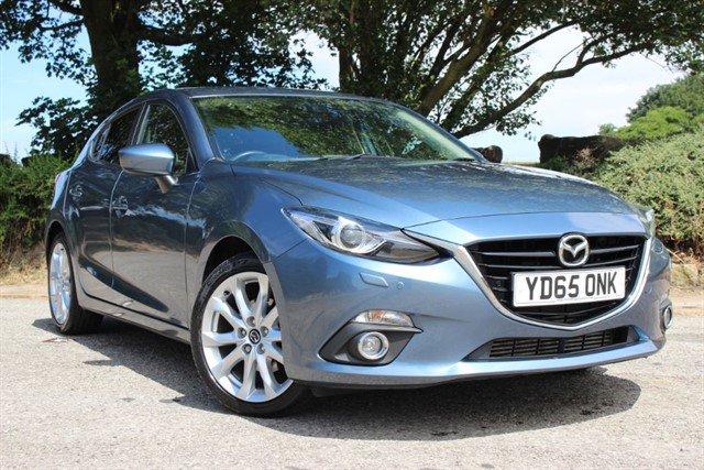 used Mazda Mazda3 Sport Nav SkyActiv-D in sheffield-south-yorkshire