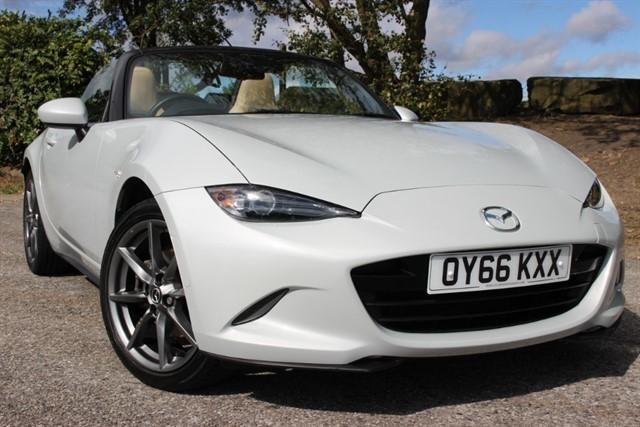 used Mazda MX-5 Sport Nav in sheffield-south-yorkshire