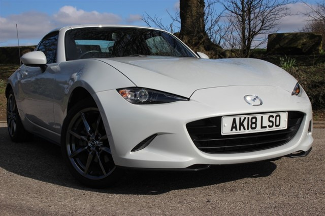 used Mazda MX-5 RF Sport Nav in sheffield-south-yorkshire