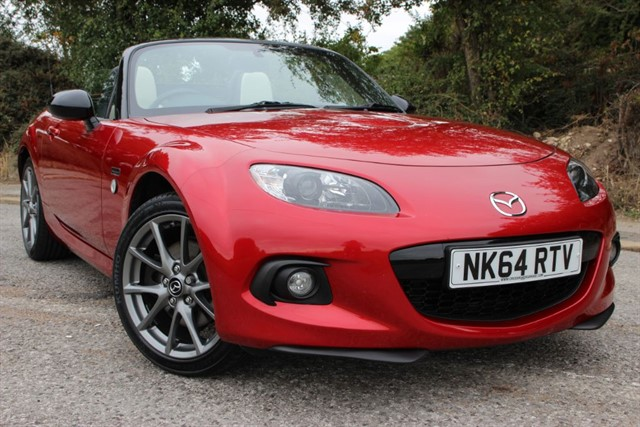 used Mazda MX-5 25 Anniversay Roadster in sheffield-south-yorkshire