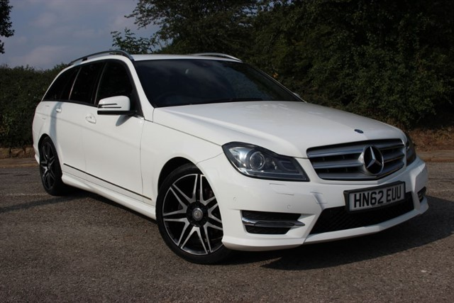 used Mercedes C220 CDI AMG Sport Plus BlueEfficiency in sheffield-south-yorkshire