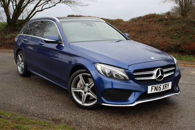 used Mercedes C250 d AMG Line Premium BlueTec in sheffield-south-yorkshire
