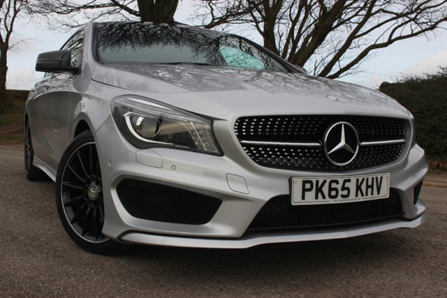 used Mercedes CLA 220 CDI AMG Sport Shooting Brake Auto in sheffield-south-yorkshire