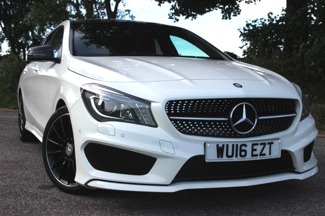 used Mercedes CLA180 AMG Sport Shooting Brake in sheffield-south-yorkshire