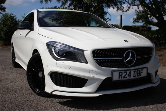 used Mercedes CLA250 AMG Sport 4Matic Auto in sheffield-south-yorkshire