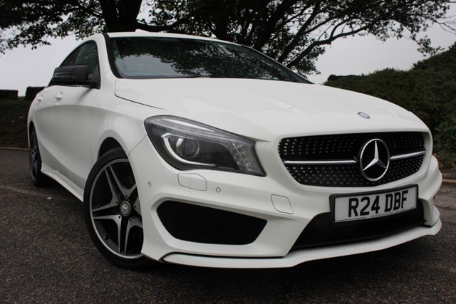 used Mercedes CLA250 AMG Sport 4Matic in sheffield-south-yorkshire