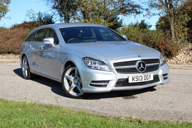used Mercedes CLS350 CDI AMG Sport BlueEfficiency Shooting Break in sheffield-south-yorkshire