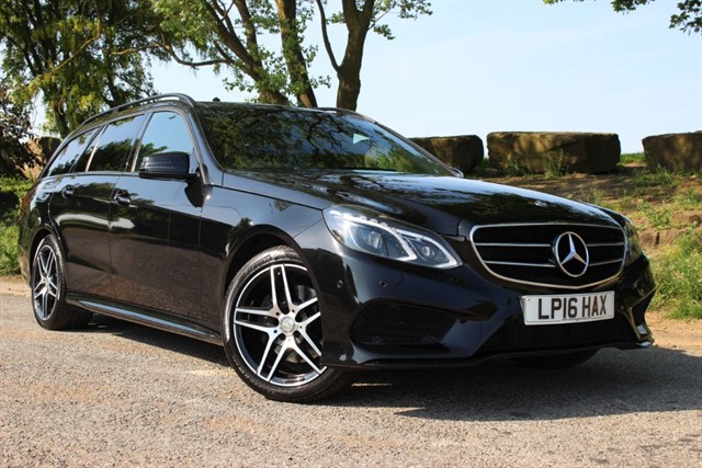 used Mercedes E220 d AMG Night Edition Premium BlueTec in sheffield-south-yorkshire