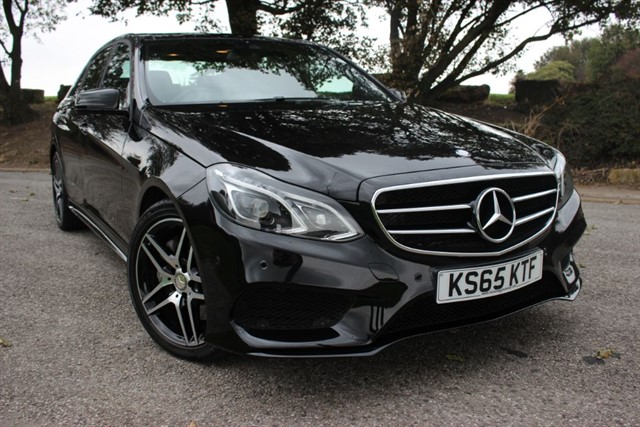 used Mercedes E350 Bluetec AMG Night Edition Premium in sheffield-south-yorkshire