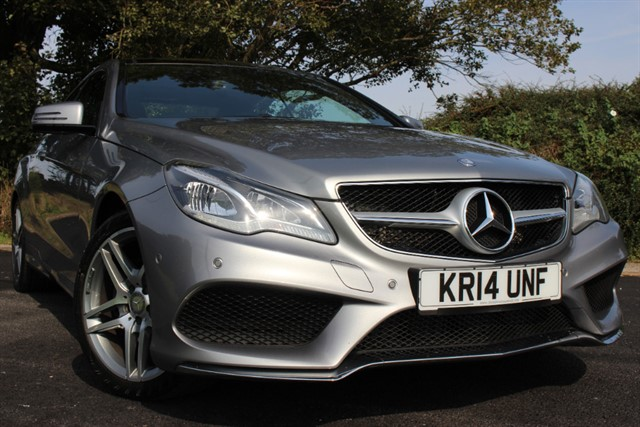 used Mercedes E350 Bluetec AMG Sport Auto in sheffield-south-yorkshire