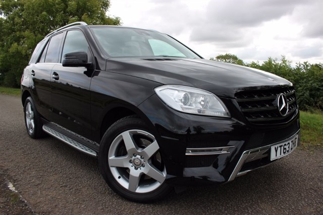 used Mercedes ML250 AMG Sport BlueTEC in sheffield-south-yorkshire