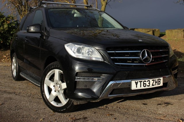 used Mercedes ML250 CDI AMG Sport BlueTEC in sheffield-south-yorkshire
