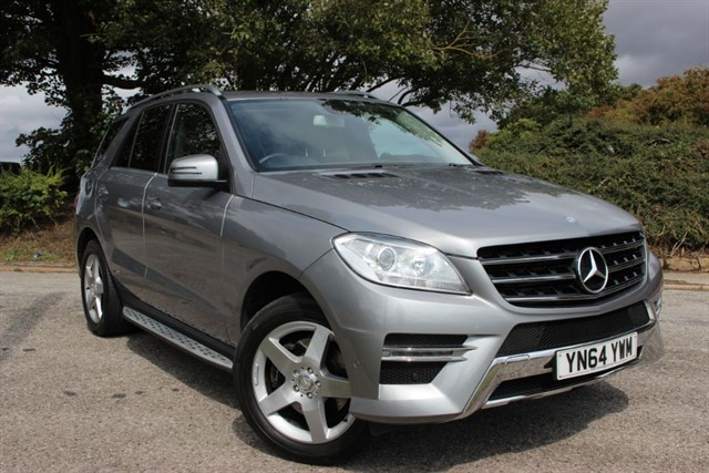 used Mercedes ML350 CDI AMG Sport BlueTec in sheffield-south-yorkshire