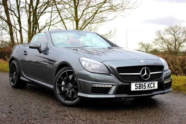 used Mercedes SLK55 AMG V8 Roadster in sheffield-south-yorkshire