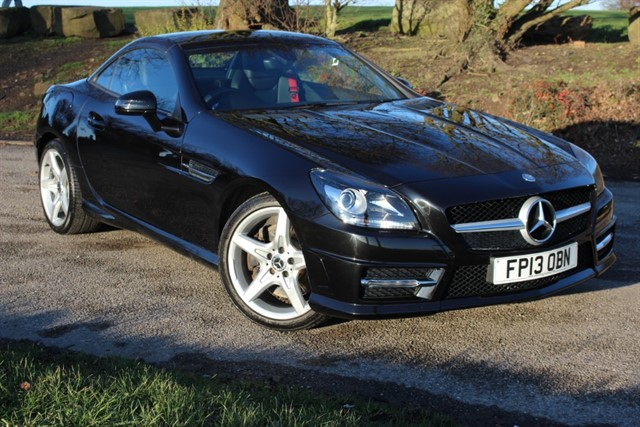 used Mercedes SLK250 CDI AMG Sport BlueEfficiency in sheffield-south-yorkshire