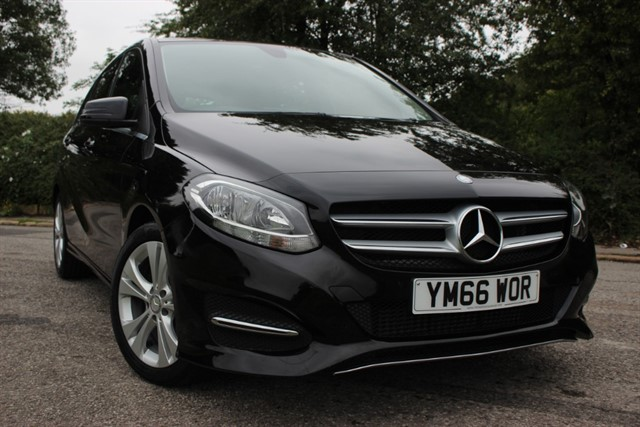used Mercedes B180 d Sport Auto in sheffield-south-yorkshire