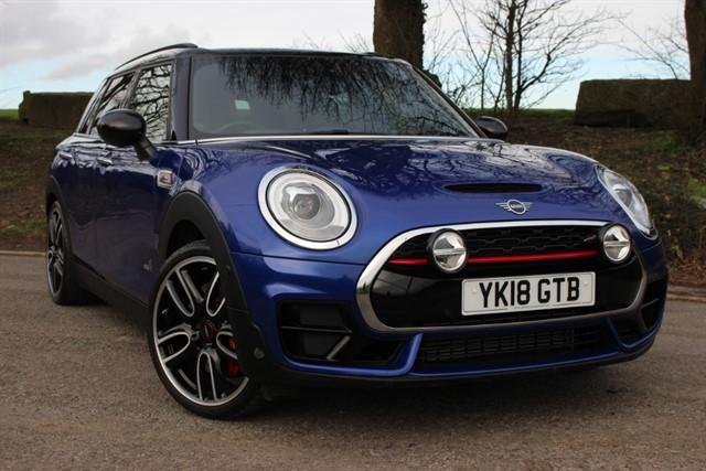 used MINI Clubman John Cooper Works All4 Auto in sheffield-south-yorkshire