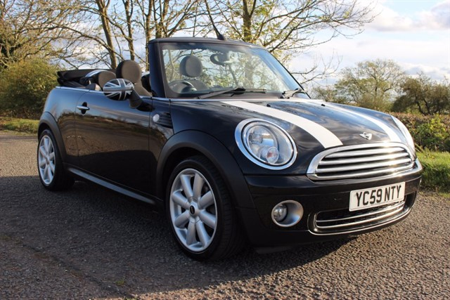 used MINI Convertible Cooper in sheffield-south-yorkshire