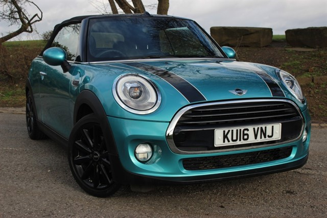 used MINI Cooper Convertible - 'Chili Pack' in sheffield-south-yorkshire