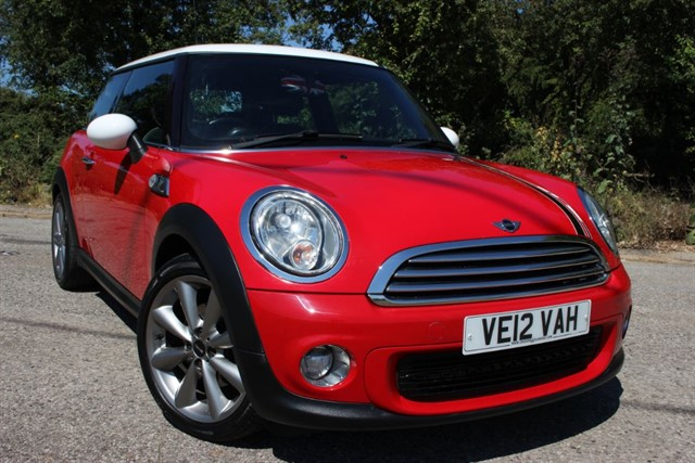 used MINI Cooper London 2012 EDition 'Chili' in sheffield-south-yorkshire