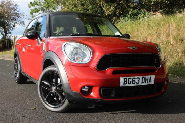 used MINI Countryman Cooper SD Auto in sheffield-south-yorkshire