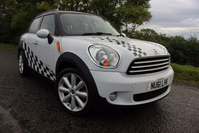 used MINI Countryman Cooper D All4 - WRC Styling in sheffield-south-yorkshire
