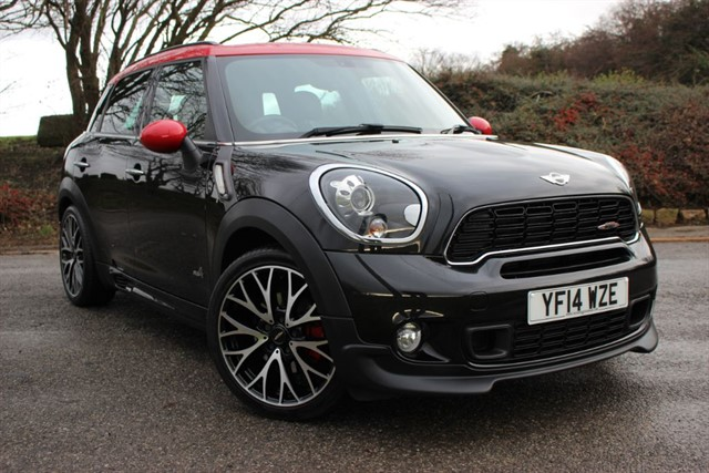 used MINI Countryman John Cooper Works ALL4 in sheffield-south-yorkshire