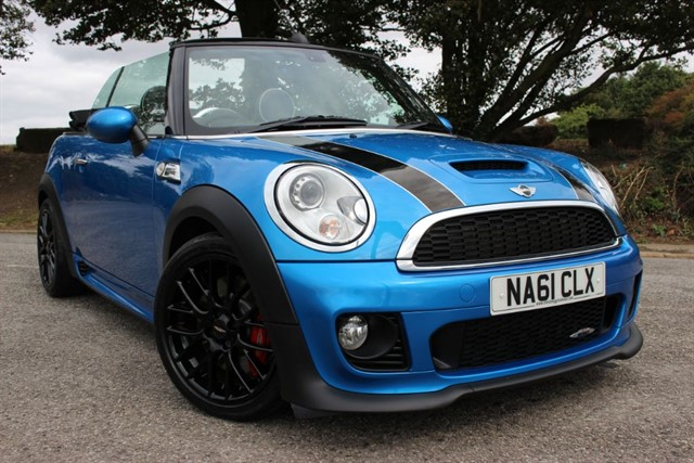 used MINI John Cooper Works Convertible in sheffield-south-yorkshire