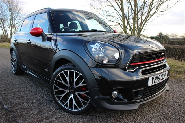 used MINI John Cooper Works Countryman All4 in sheffield-south-yorkshire