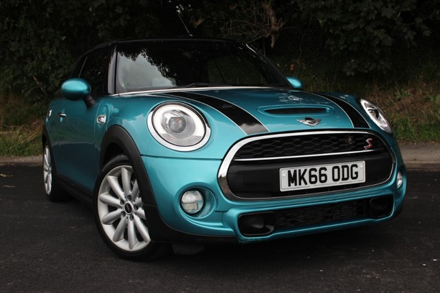 used MINI Cooper S 'Chili & Media XL Pack' Convertible Auto in sheffield-south-yorkshire