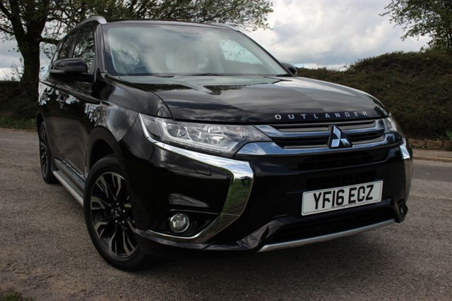used Mitsubishi Outlander PHEV GX 5H in sheffield-south-yorkshire