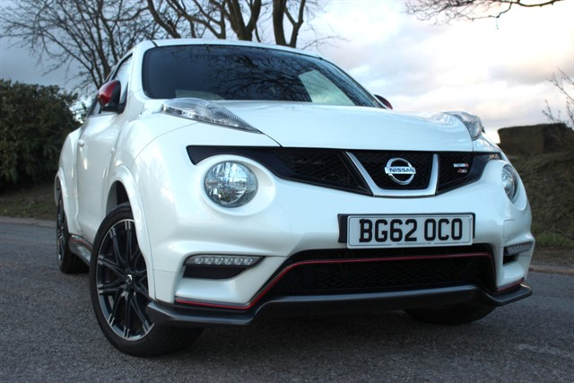 used Nissan Juke Nismo DIG-T M-CVT 4x4 in sheffield-south-yorkshire
