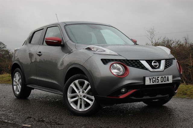 used Nissan Juke Acenta Premium DIG-T in sheffield-south-yorkshire