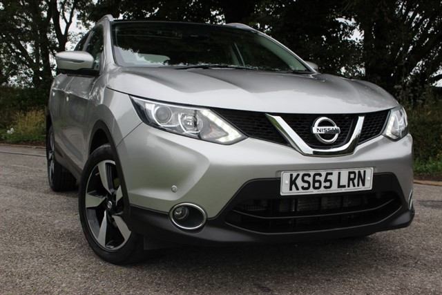 used Nissan Qashqai N-Tec Plus dCi Xtronic Auto in sheffield-south-yorkshire