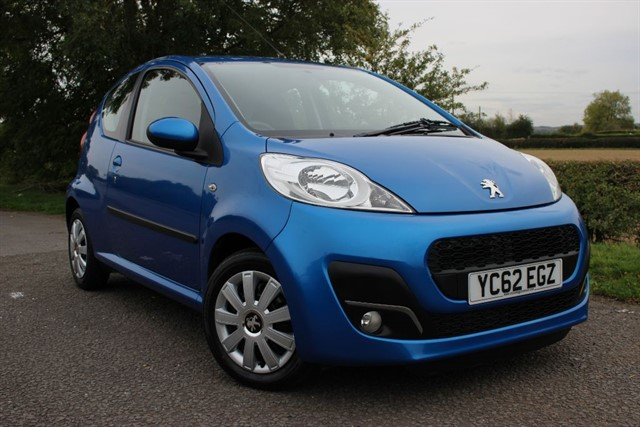 used Peugeot 107 Active in sheffield-south-yorkshire