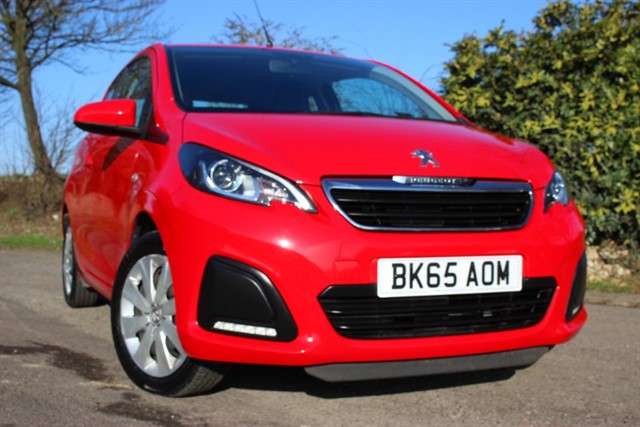 used Peugeot 108 Active in sheffield-south-yorkshire