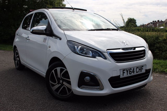 used Peugeot 108 Allure Top in sheffield-south-yorkshire
