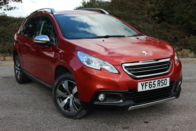 used Peugeot 2008 BLUE HDI S/S ALLURE in sheffield-south-yorkshire