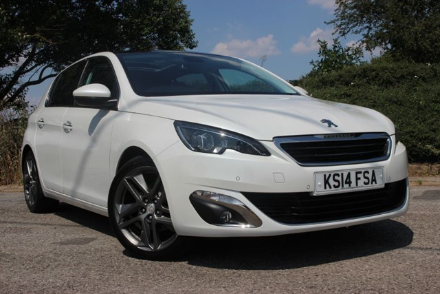 used Peugeot 308 E-HDI Feline in sheffield-south-yorkshire