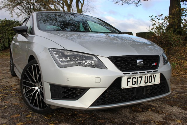 used SEAT Leon Cupra Black 290 TSI DSG in sheffield-south-yorkshire