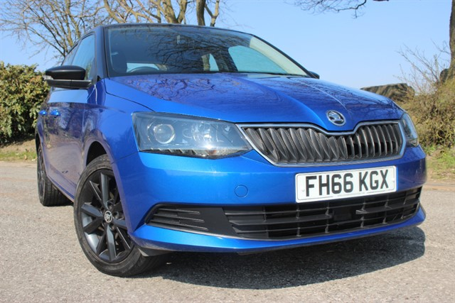 used Skoda Fabia Colour Edition TSI in sheffield-south-yorkshire