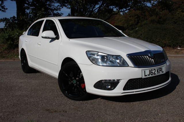 used Skoda Octavia vRS Blackline TDI CR in sheffield-south-yorkshire