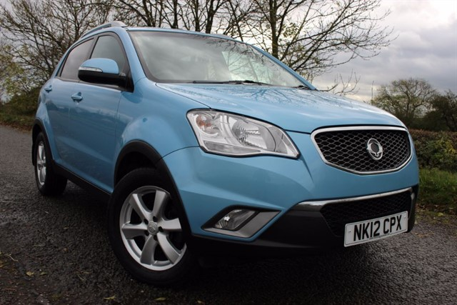 used Ssangyong Korando EX D20T AWD in sheffield-south-yorkshire