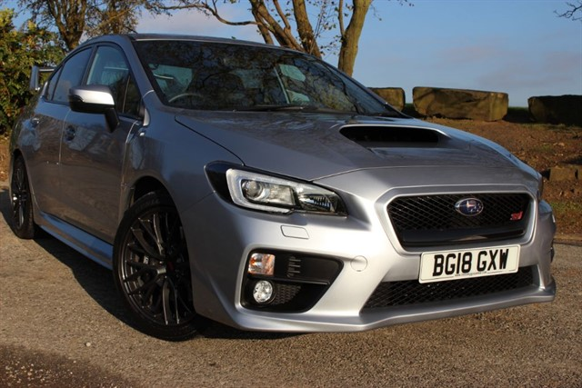 used Subaru WRX STI Type UK in sheffield-south-yorkshire