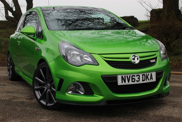 used Vauxhall Corsa VXR N�rburgring Edition in sheffield-south-yorkshire