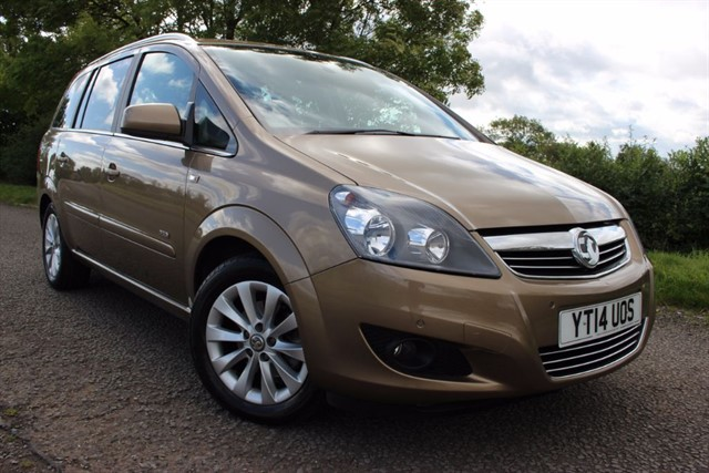 used Vauxhall Zafira Design Nav in sheffield-south-yorkshire