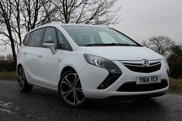 used Vauxhall Zafira Tourer SRI CDTI in sheffield-south-yorkshire