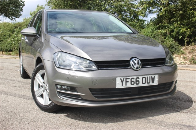 used VW Golf Match Edition TSI BlueMotion Tech in sheffield-south-yorkshire