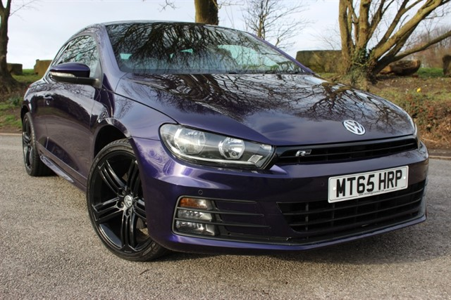 used VW Scirocco R Line TDI Bluemotion Technology DSG in sheffield-south-yorkshire