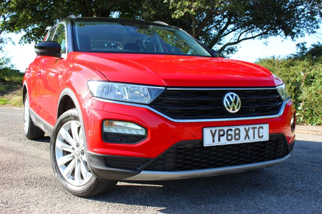used VW T-Roc SE TDI in sheffield-south-yorkshire